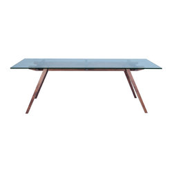 Franz Dining Table, Medium Brown Ash