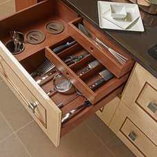 Asian Cabinet And Drawer Organizers by Bareville Kitchens & Design