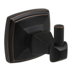 Designers Impressions - Regal Series Oil Rubbed Bronze Bathroom Accessories, Robe Hook - Finish: Oil Rubbed Bronze