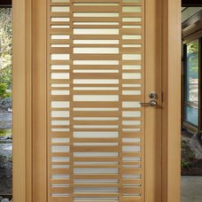 Modern Front Doors by FINNE Architects
