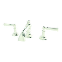 "Newport Brass - Newport Brass 2430 Double Handle Widespread Bathroom Faucet with Metal Lever - Newport Brass Double Handle Widespread Lavatory Faucet with Metal Lever Handles and 4-1/2"" Spout Height from the Aylesbury CollectionNEWPORT BRASS-Flawless Beauty. From Faucet to Finish- With over 20 years of innovation and design success, Newport Brass decorative plumbing and bath products will satisfy your most intimate desire to transform an everyday kitchen or bath into a room of classic beauty and distinction.General Features :Double Handle Short Widespread Lavatory FaucetMetal Lever HandlesSolid Brass Construction8"" CentersSpout Height is 4-1/2""Spout Reach is 5-1/8""Traditional StylingFinish Features :Available in 25 Beautiful FinishesNew Industry Leading Lacquer Finish ProcessIAPMO Certified and TestedLong Life Finishes - 10 Year WarrantyDurable, Color Protected, Scratch ResistantGreen, Low VOC, Energy Efficient Finishing ProcessInnovative Design Features :Timeless Design for Contemporary StylesLaminar Flow for Clear, Smooth, Luxurious Water FlowClean Designs - No Visible Set Screws on Handles or Trim PlateHandcrafted Quality Features :Solid Non-Corrosive Forged Brass ComponentsPatented Drip-Free Ceramic ValveHand Polished and InspectedO-Ring Deck Seal Handles for Clean Counter Tops and Easy InstallationEasy Installation Features :Direct Connect Hose System for Leak-Free Easy InstallationEasy Install Valves with Custom Valve Nut that Insures Proper Cartridge Height and Easy InstallCertifications and Compliances :WaterSense CertifiedAB1953 Low Lead Brass Materials CompliantIAPMO, UPC CertifiedADA Compliant"
