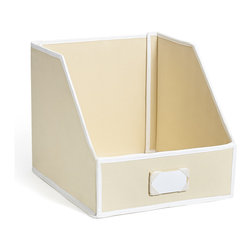 Great Useful Stuff - Sweater Bins for Organized Closet Storage, Ecru: 100% Cotton Twill - Does your closet feel a little stuffy? We all know how tough it is to keep a closet looking neat and organized. Whether you have a closet nightmare or you just want a little more order, our stylish Sweater Storage Bins are the perfect choice for you!