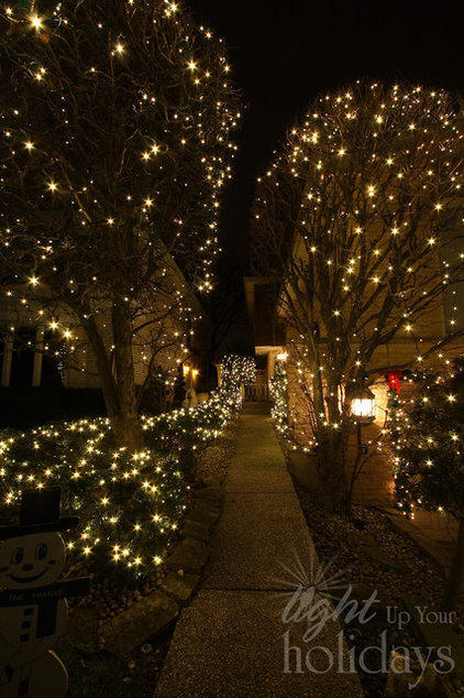 Contemporary Landscape by Light Up Your Holidays