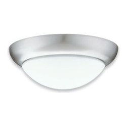 Lithonia Lighting - Pristine Flushmount by Lithonia Lighting - The Lithonia Pristine Flushmount creates cheerful ambience in a design inspired by the Art Deco style. The Pristine Flushmount provides abundant, energy-efficient illumination and is suitable for residential and light commercial applications.Lithonia Lighting, headquartered in Conyers, Georgia, specializes in designing and manufacturing superior quality, energy-efficient lighting for indoor and outdoor uses.The Lithonia Pristine Flushmount is available with the following:Included Features: