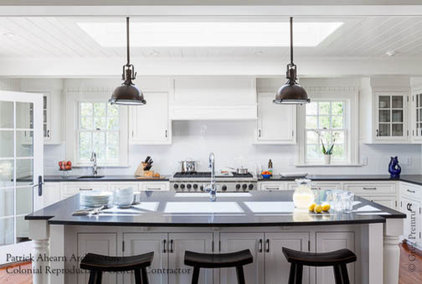 Beach Style Kitchen by Colonial Reproductions, Inc.