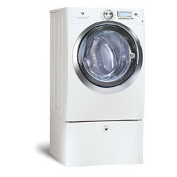 4.4 Cubic Feel Front Load Washer with Wave-Touch Controls - This front-loading washer will use less water per load and keep your clothes looking like new longer. What more could you ask for?