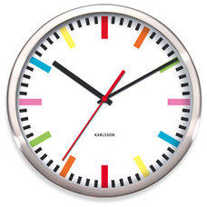 Contemporary Clocks by Bed Bath & Beyond