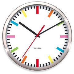 contemporary clocks by Bed Bath and Beyond