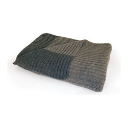 Go Home - Ribbed Sweater Throw - *Dimensions: