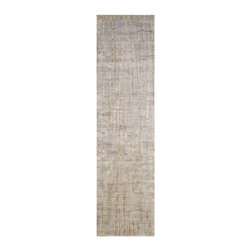 "Surya - Contemporary Shibui Hallway Runner 2'6""x10' Runner Spanish Moss-Dark Fern  Area - The Shibui area rug Collection offers an affordable assortment of Contemporary stylings. Shibui features a blend of natural Spanish Moss-Dark Fern  color. Hand Knotted of 100% Semi-Worsted New Zealand Wool the Shibui Collection is an intriguing compliment to any decor."