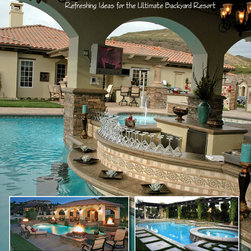 Sanctuary In The City - 'With over 400 stunning color photos, this book is an informative resource with hundreds of backyard design ideas to introduce you to many possibilities for backyard pools that turn your home into a vacation spot that is the envy of all your friends. Whether you are looking for an intimate hydrotherapy spa, a splash-happy place for family fun, an invigorating exercise pool or an exquisite setting for outdoor entertaining, you will discover it in these breathtaking, high-performance pools and spas. Each chapter highlights a project from Scott Cohen's portfolio, featuring yards of every size, that have been transformed into extraordinary poolscapes. Glistening infinity pools, Tuscan-style fountains, outdoor waterfalls, and romantic tropical coves are also included-they are all here. This instructive guide illustrates the tips and techniques that go into a perfect pool landscape…tips you or your designer can use in your own landscaping plans. In addition to swimming pool designs and hot tub ideas, this book covers fountains and other water features.'