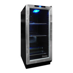 Vinotemp - Vinotemp - VT-32 Model Beverage Cooler - The same size as a kitchen trash compactor, the sleek VT-32BCSB10 Beverage Cooler can be fitted under a counter top and makes a great addition to any home.