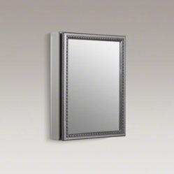 "KOHLER - KOHLER 20"" W x 26"" H aluminum single-door medicine cabinet ..."