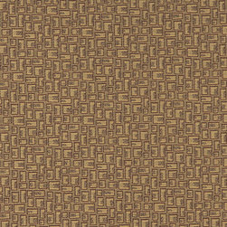 Beige and Brown Geometric Rectangles Durable Upholstery Fabric By The Yard - P8935 is great for residential, commercial, automotive and hospitality applications. This contract grade fabric is Teflon coated for superior stain resistance, and is very easy to clean and maintain. This material is perfect for restaurants, offices, residential uses, and automotive upholstery.