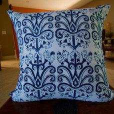 Topkapi Hand Block Printed Throw Pillow by aalamwaar on Etsy