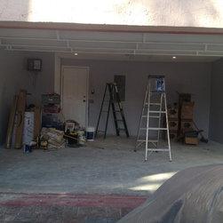 Ulti-MATE Pro Garage Cabinet Make-over project - Before pic of Ulti-MATE Pro Garage Cabinet Make-over