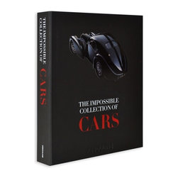 The Impossible Collection of Cars - From Assouline, the world's premier publisher of luxury books, comes The Impossible Collection of Cars. Get your motor running with this sophisticated special edition featuring 100 of the top luxury cars from the 20th century. From an early age, we dream about the freedom of driving.  Cars bring us to our destination, and for many, this personal form of transportation is an expression of who we are. Dreamers and collectors alike can get lost in the pages of possibilities with The Impossible Collection of Cars, back by popular demand. Stunning photographs, illustrations and narrative delve deep into some of the finest motor vehicles in history. Explore and appreciate the groundbreaking achievements and lasting legacy of brands like BMW, McLaren, Lamborghini, Porsche, Ford, Rolls-Royce and Maserati. Each of the cars featured are chosen for their superior design, elegant lines and state-of-the-art capabilities for their time. The spectacular photographs are vivid on cotton paper pages and hand-bound in a black rubber clamshell box with a cutout metal plate.  The Impossible Collection of Cars is a great gift for the car collector, history buff, or the guy who has everything.