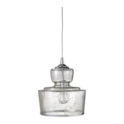 "Jamie Young Lafitte Clear Glass 10"" Wide Pendant Chandelier 