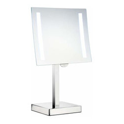 Smedbo - Smedbo Freestanding Led Light, Shaving/Make Up Mirror - Smedbo Freestanding Led Light, Shaving/Make Up Mirror