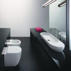 Modern Bathroom Sinks by Montreal-Les-Bains
