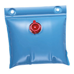 Blue Wave - Blue Wave Wall Bags for Avove Ground Pools - 1 Pack - Wall bags hold your cover down, even in high winds! these handy wall bags help hold your cover down in high winds and protect it from wind whip and damage. Our bags are made of heavy-gauge vinyl and are easily filled with water using a garden hose. They are designed to lie on top of the cover around the inside perimeter of your pool. Rugged grommets on top of each bag allow you to fasten them to your cover's cable. Use one wall bag every 2-3 feet. Anchor your winter cover this year with wall bags!