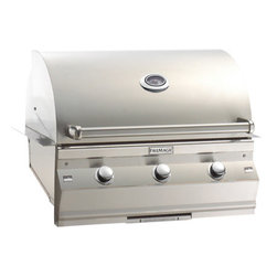 Fire Magic - Fire Magic Choice C540i Built-In Gas Grill - Heavy-gauge tubular stainless steel burners