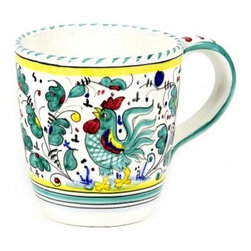 Artistica - Hand Made in Italy - ORVIETO: Mug - ORVIETO Collection: This is a very old and traditional pattern that originated during the Renaissance in the hill-top town of Orvieto - Italy.