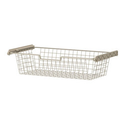 IKEA of Sweden - KOMPLEMENT Wire basket - Wire basket, beige