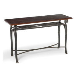 Camino Console by Charleston Forge - Dimensions: