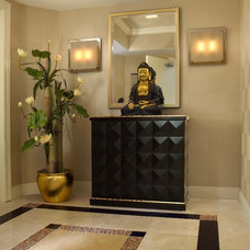 Eclectic Entry by Weiss Design Group, Inc.