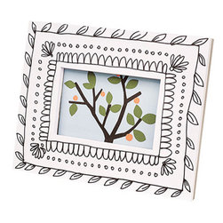 Doodlebook Frame - Can't find the right frame? Draw on this one and make it exactly what you want. It's a paper pad with a square cut out in the middle that you can change up 80 times!