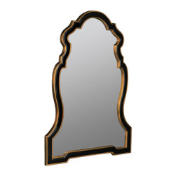 Cooper Classics - Cooper Classics Quenby 42x30 Wall Mirror in Antique Black and Gold - The Quenby Mirror is a traditional take on a trendy shape. This stunning mirror features a black and antique gold finish which provides the perfect combination of sophistication and understated glamour.