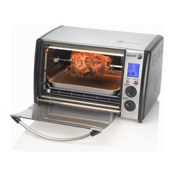Fagor - Digital Toaster Oven - Dimensions: 18.4 x 15.2 x 12.1 inches