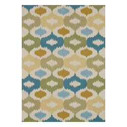 Loloi Rugs - Loloi Rugs JULIJL-29IVSG7696 Juliana Ivory-Sage Transitional Hand Hooked Rug - Breathe casual elegance and flirty fun into any room of your house with the hand-hooked Juliana Collection. Handmade in China of 100-percent polyester, the intricate, high/low texture of these unique rugs is achieved with a mix of petit-point and bolder hooks. Juliana's eye-catching designs feature a selection of transitional florals and stripe patterns that wear a decidedly happy palette. With texture this bold and colors this fun, you will smile every time you walk into your home.