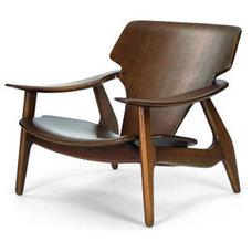 Modern Armchairs Diz Armchair by Sergio Rodrigues