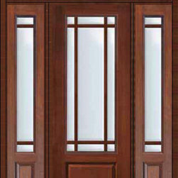"""Prehung French Sidelites-Transom Door 96 Marginal 9 Lite Marginal - SKU#MCR18-SDL9_DF834D91-2RDBrandGlassCraftDoor TypeFrenchManufacturer Collection9 Lite Marginal French DoorsDoor ModelMarginalDoor MaterialFiberglassWoodgrainVeneerPrice5715Door Size Options32"""" + 2( 14"""")[5'-0""""]  $036"""" + 2( 14"""")[5'-4""""]  $036"""" + 2( 12"""")[5'-0""""]  $0Core TypeDoor StyleDoor Lite Style9 Lite , MarginalDoor Panel Style1 PanelHome Style MatchingDoor ConstructionPrehanging OptionsPrehungPrehung ConfigurationDoor with Two Sidelites and Rectangular TransomDoor Thickness (Inches)1.75Glass Thickness (Inches)Glass TypeDouble GlazedGlass CamingGlass FeaturesTempered glassGlass StyleGlass TextureClearGlass ObscurityNo ObscurityDoor FeaturesDoor ApprovalsTCEQ , Wind-load Rated , AMD , NFRC-IG , IRC , NFRC-Safety GlassDoor FinishesDoor AccessoriesWeight (lbs)770Crating Size36"""" (w)x 108"""" (l)x 89"""" (h)Lead TimeSlab Doors: 7 Business DaysPrehung:14 Business DaysPrefinished, PreHung:21 Business DaysWarrantyFive (5) years limited warranty for the Fiberglass FinishThree (3) years limited warranty for MasterGrain Door Panel"""