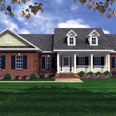 Traditional Exterior Elevation by Family Home Plans