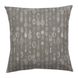 Look Here Jane, LLC - Amba Grey Pillow Cover - PILLOW COVER