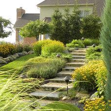 Traditional Landscape by Grandma's Gardens & Landscape
