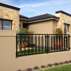 Modern Fencing by Hindmarsh Fencing & Wrought Iron Security Doors