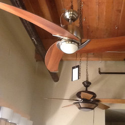 Modern Ceiling Fan by Kendall - Kendal Lighting AC17152-SN Treo Ceiling Fan