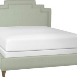 Deco Bed - I love the ice blue color of this deco bed. It's a perfect pastel color that you could never grow out of.