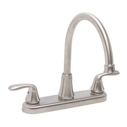 PREMIER - Premier 126966 Waterfront Lead-Free Two-Handle Kitchen Faucet without Spray - Features: