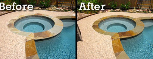 Stone Sealing & Restoration - Premier Stone Protection - Sandstone Coping Protection & Enhancement