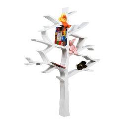 Nurseryworks - Nurseryworks | Tree Bookcase - Design by Shawn Soh.