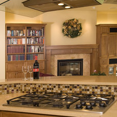 Transitional Kitchen by Elizabeth P. Lord Residential Design