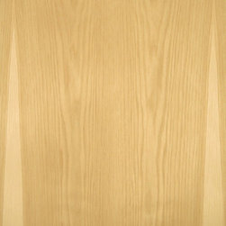 Plain Sliced Pecan Veneer - Pecan veneer is a medium textured veneer that sometimes has a distinct light sapwood and dark heartwood appearance but tends to be the more uniform colored darker heartwood. Available in a variety of backers and sizes.