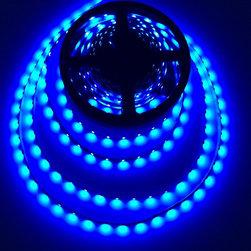 Blue Indoor - LED Light Flexible Strips DEMASLED - www.demasled.us (SMD3528 FLEXIBLE STRIP - 300LED/16.4ft - Blue )