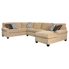 traditional sectional sofas Basset CU2 sectional