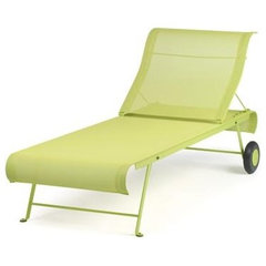 Sunlounger, Fermob Dune Sunlounger, Fermob Dune Sunlounger With Wheels